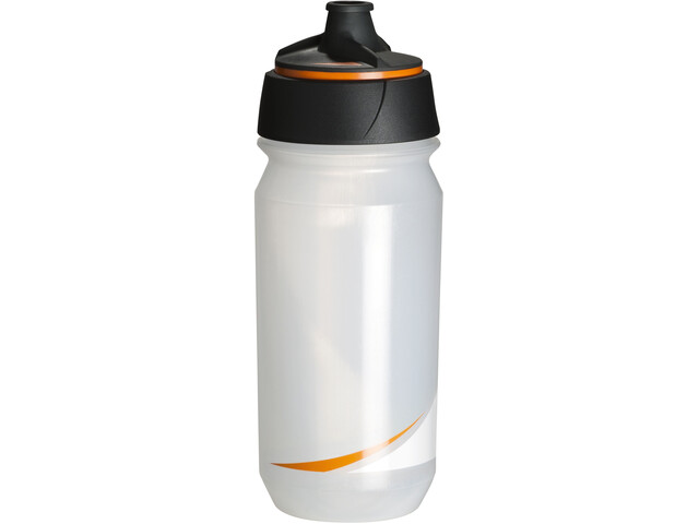 Tacx Shanti Twist Drinking Bottle 500ml transparent/orange